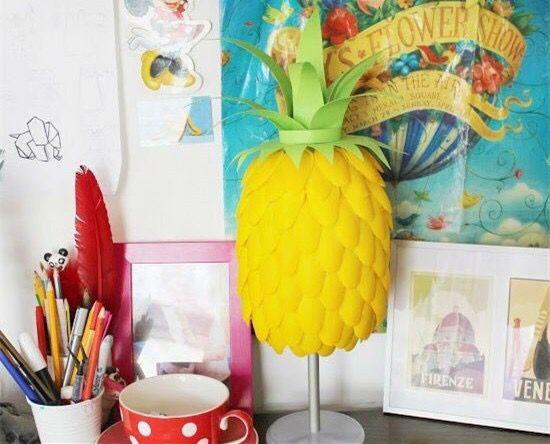 Kendin Yap Fikirleri: Ananas Abajur