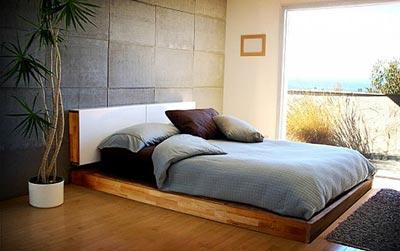 Yerde Yatak Odası