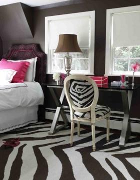 Evinizdeki Egzotik Dekor: Zebra Deseni