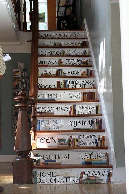 Kitaplık Merdivenler
