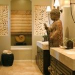 Asya Tarzı Banyo Dekorasyonu