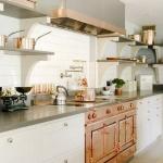 Bakır Rengi Mutfak