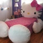 Hello Kitty Yatak
