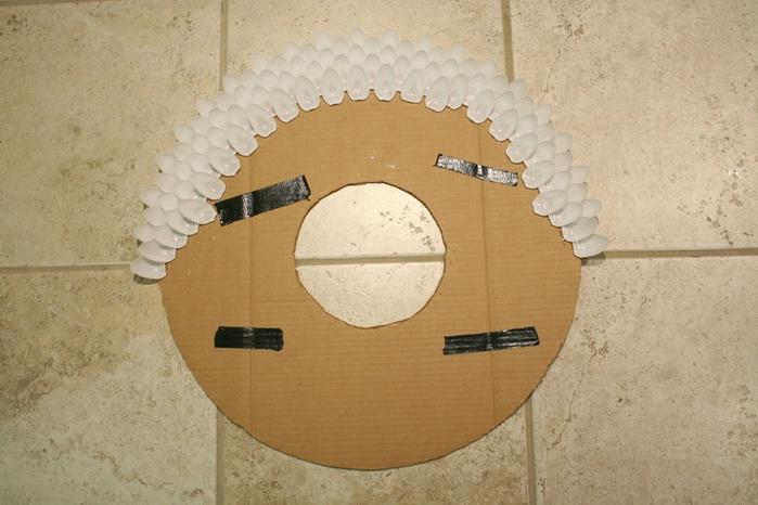 Plastik Kaşıklar İle Ayna Yapımı