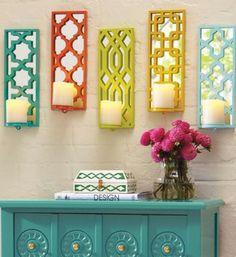 Renkli Duvar Dekorasyonu