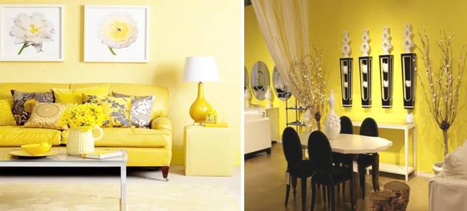 Sarı Ev Dekorasyonu