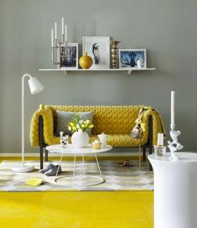 Güneşi Evinize Davet Edin: Sarı Renk Ev Dekorasyonu