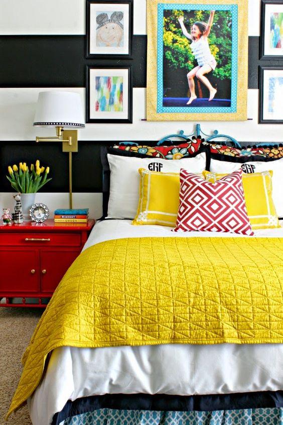 İlkbahar Yatak Odası Dekorasyonu