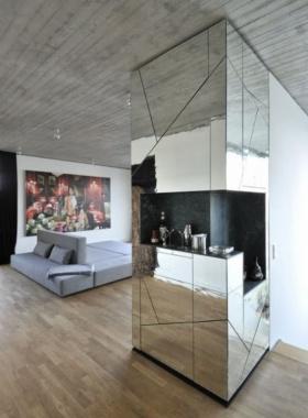Dekorasyon Trendi: Ayna Kaplamalı Duvar Modası