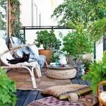 Bahar İçin Balkon Dekorasyonu