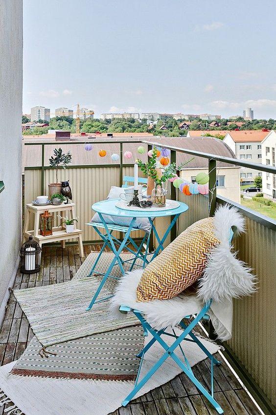 Balkon Dekor Fikirleri