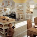 Beyaz Counrty Mutfak Modelleri Dolap