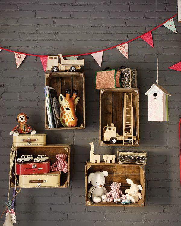 Vintage Bebek Odası Dekorasyonu