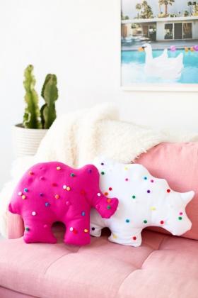 Kendin-Yap: Hayvan Figürlü Yastık Yapalım
