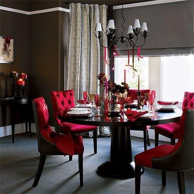 Kırmızı Sandalye Modelleri