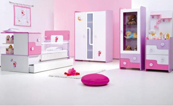 Kız Bebek Odası Takımı