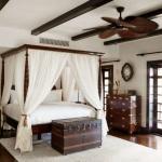 Kolonyal Tarzı Yatak Odası