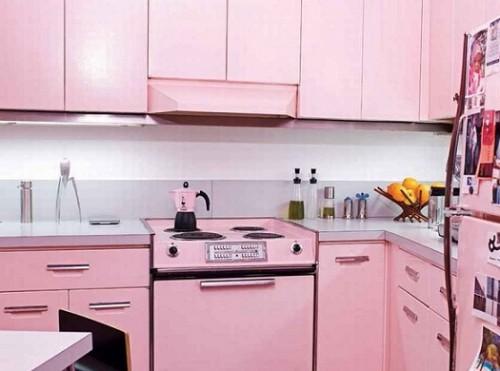 Renkli Mutfak Dolabı