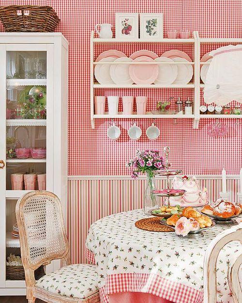 Romantik Mutfak Rafları