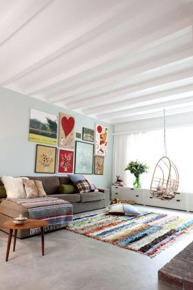 Ev Dekorasyonunda Farklı Tarzları Bir Arada Kullanmak: Eklektik Stil