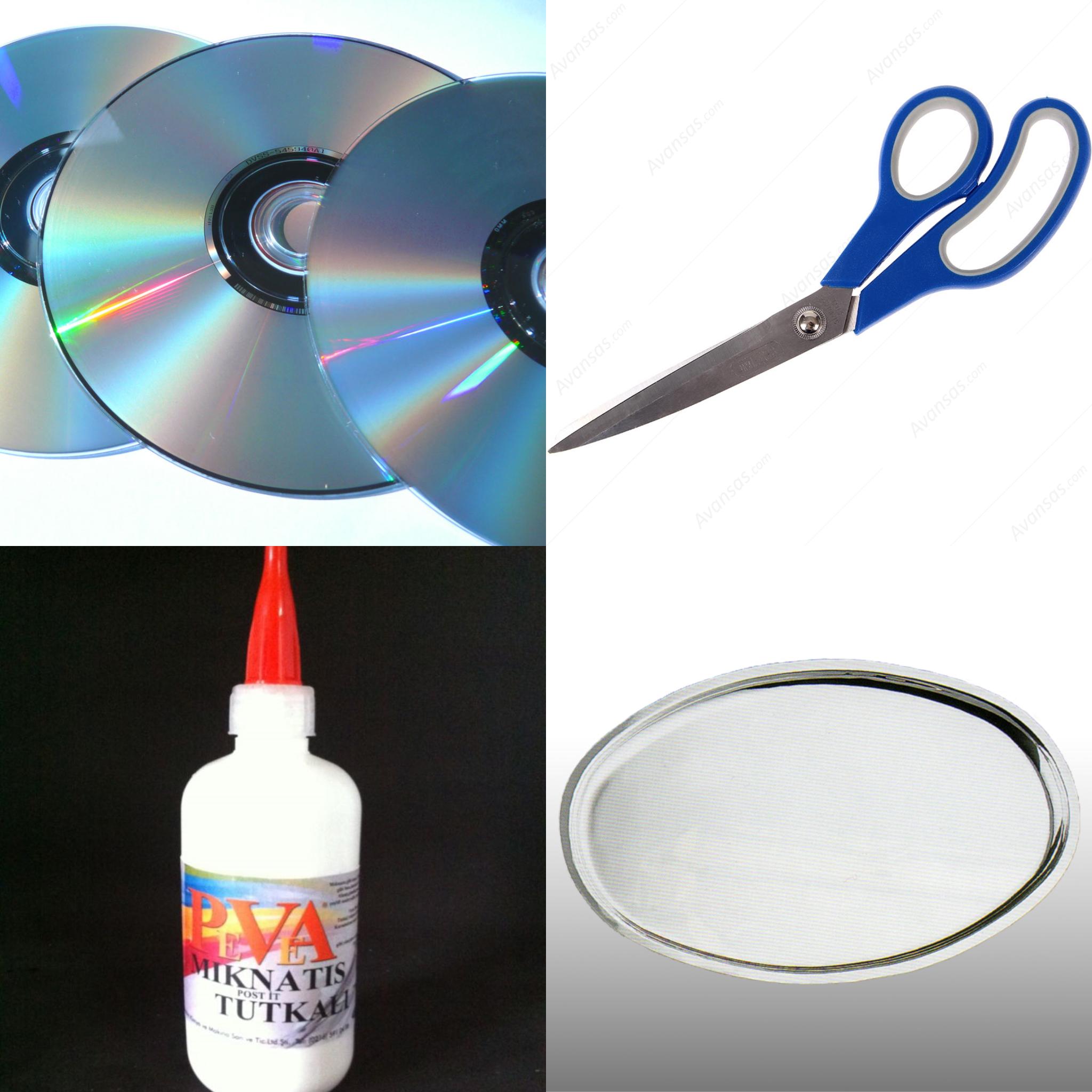 CD ile Tepsi Yapımı