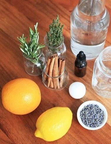 Limon ve Tarçınla Mum Yapımı