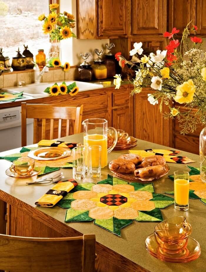 Ayçiçeği Rengi Mutfak