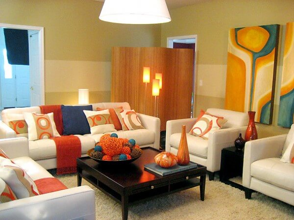 Ayçiçeği Rengi Oturma Odası