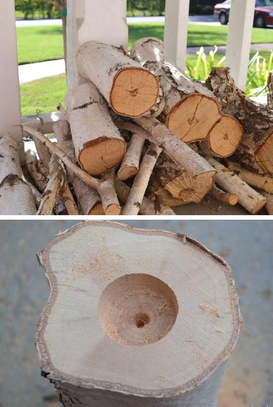 Odundan mumluk Yapımı