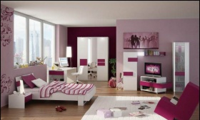 Genç Kız Odası Dekorasyonunda İncelikler