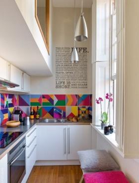 Küçük Mutfaklara Çözümler: Renk Dopingi