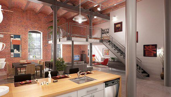 Loft Modern Dekorasyon