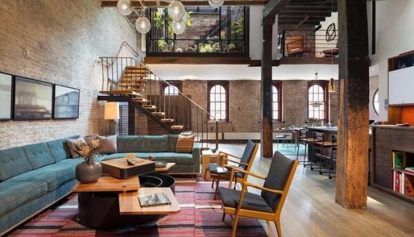 Kentin Kalbinde Endüstriyel Deneyler: Loft-Modern Dekorasyon