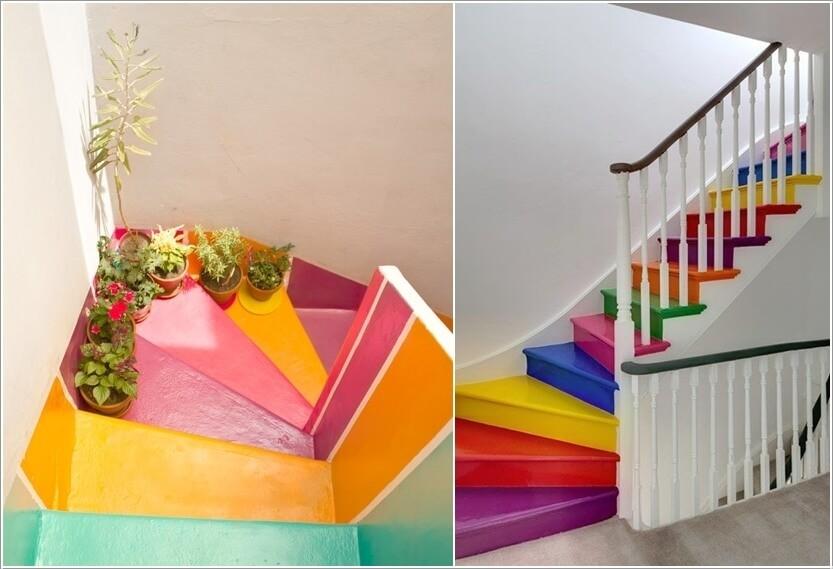 Merdiven Boyama Fikirleri