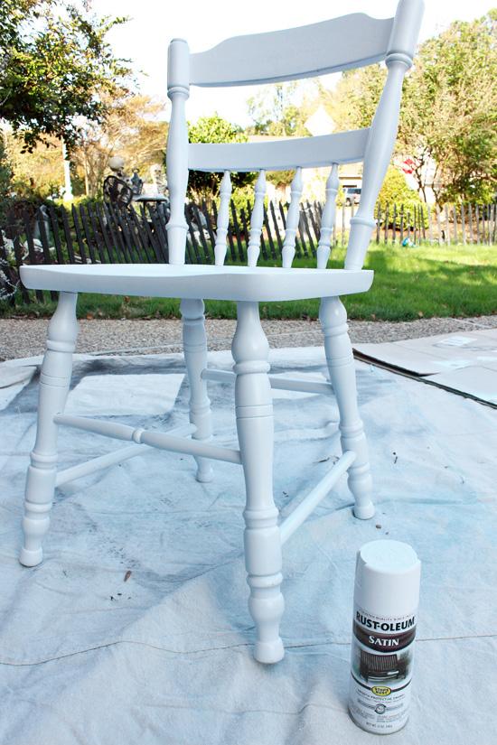 Mutfak Sandalyesi Boyama