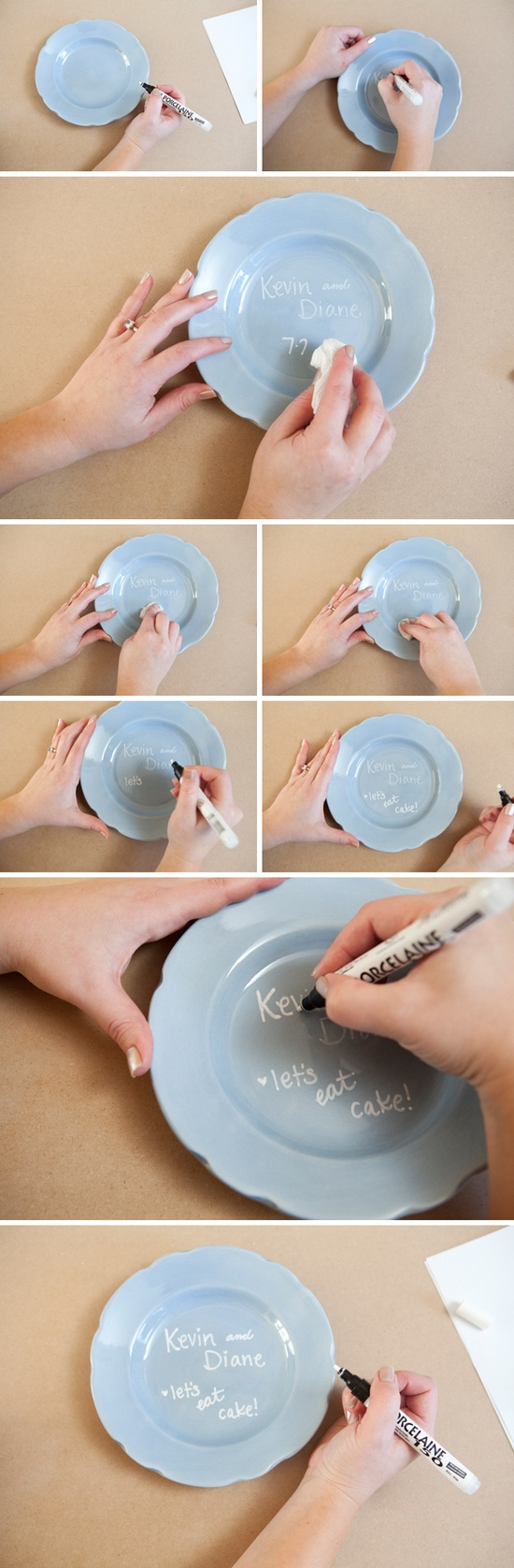 Porselen Kalemi İle Boyama