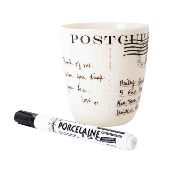 Porselen Kalemi İle Kupa Boyama