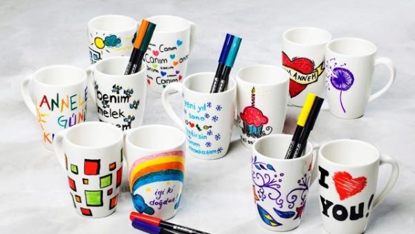 Porselen Kupaları çizelim Mi Dekor Yaşam