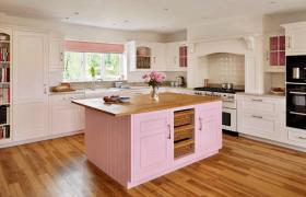 Mutfaklarında Pembe Kullanmak İsteyenlere 3 Öneri