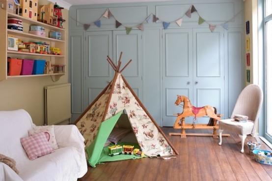 Çocuk Odası Çadır Mdoelleri