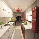 Dar Mutfak Dekorasyon Fikirleri