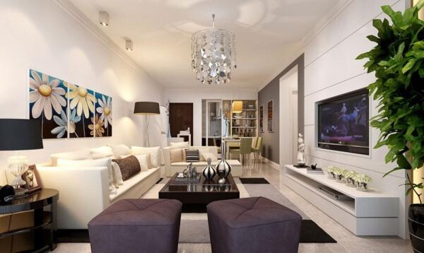 Dikd rtgen salonlar nas l dekore edilmeli dekor ya am for 30 m2 salon dekorasyonu