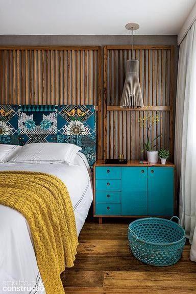 Hardal Sarısı Yatak Odası