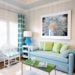 Mavi Tonlarda Ev Dekorasyonu