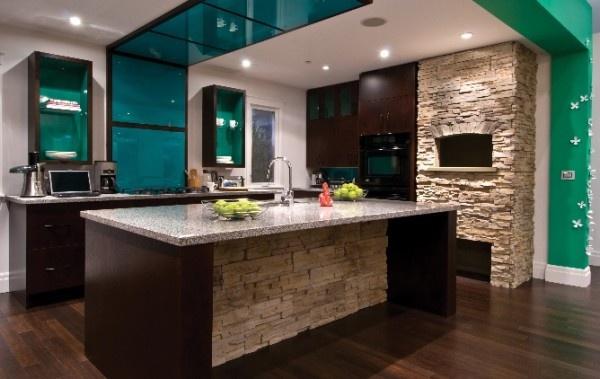 Mutfak Dekorasyonunda Doğal Taş Modelleri