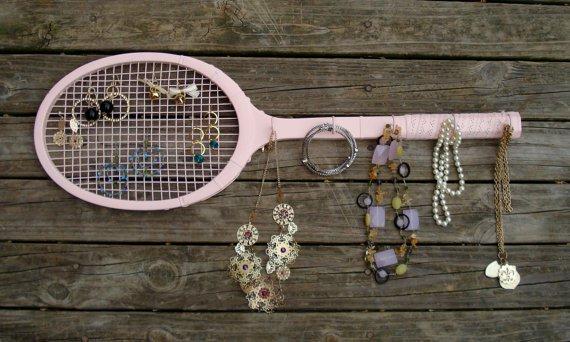 Eskimiş Tenis Raketinden Takı Askısı
