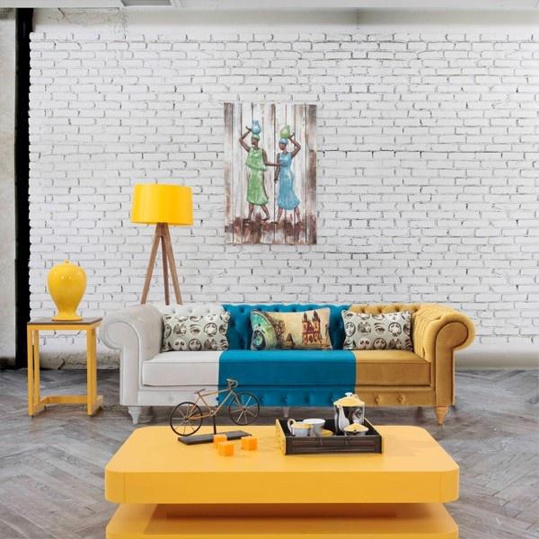 Renkli Oturma Odası