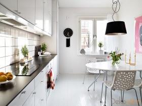 Uzun-İnce Bir Mutfak Nasıl Kullanışlı Hale Getirilir?