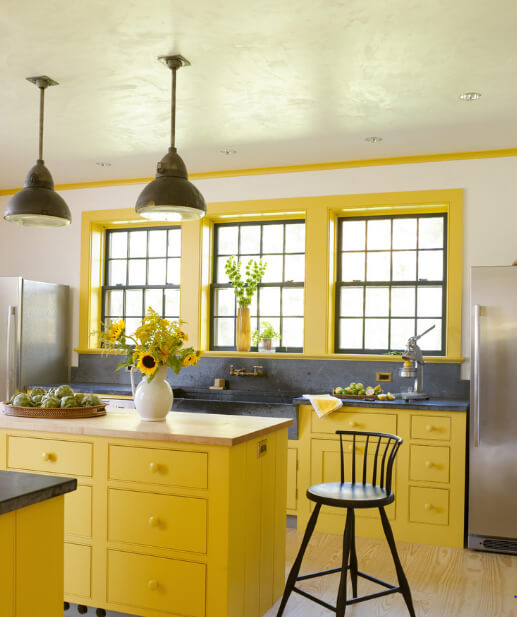Sarı Renk Dekorasyon Fikirleri