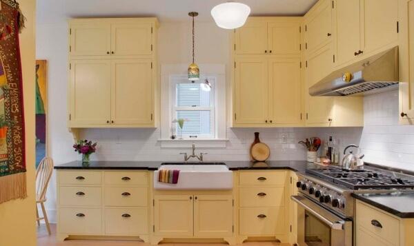 Sarı Renk Mutfak Dekorasyonu